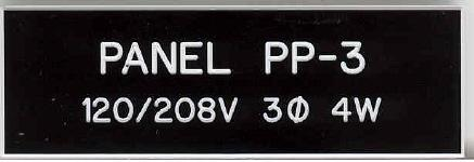 engraved panel tags nameplates With engraved electrical panel labels